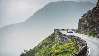 Best driving roads in Wales